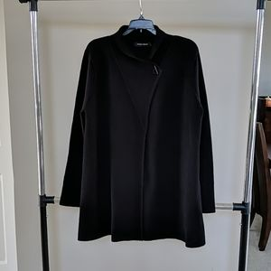 Ivanka Trump black cotton cardigan L